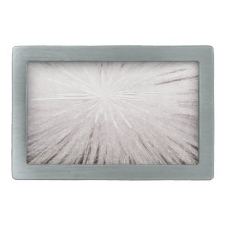 白い火花 長方形ベルトバックル