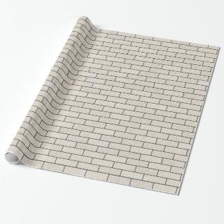 白い煉瓦 包装紙