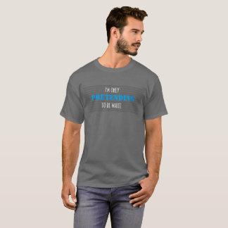白い特権 Tシャツ