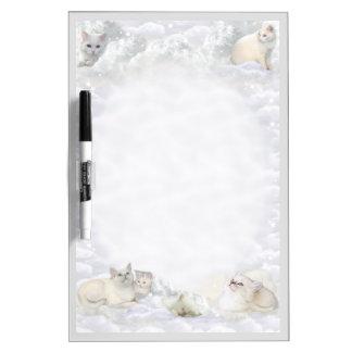 白い猫 ホワイトボード