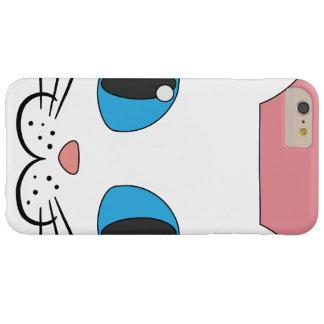 白い猫Iphone/Ipadの場合 Barely There iPhone 6 Plus ケース