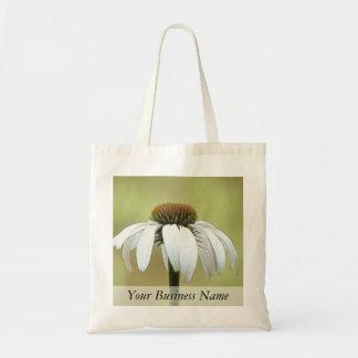 白い白鳥のEchinacea トートバッグ