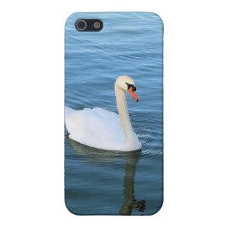 白い白鳥 iPhone 5 ケース