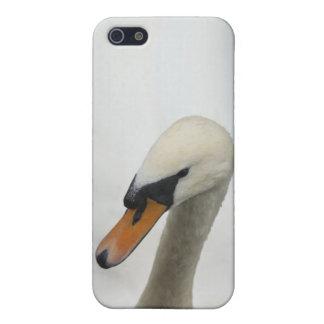 白い白鳥 iPhone 5 COVER