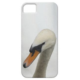 白い白鳥 iPhone SE/5/5s ケース