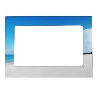 白い砂のビーチの磁気フレーム マグネットフレーム