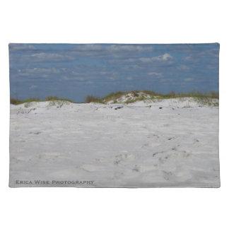 白い砂のビーチ ランチョンマット