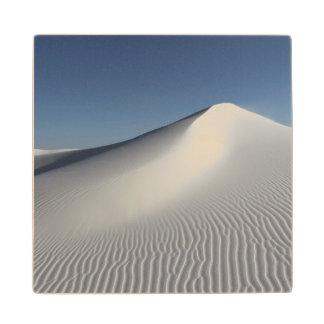 白い砂 ウッドコースター