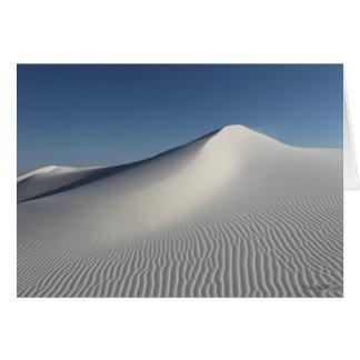 白い砂 カード