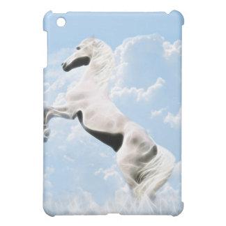 白い種馬の馬の養育 iPad MINI CASE