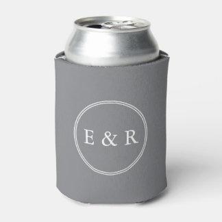 白い結婚式の詳細との鮫の灰色 缶クーラー