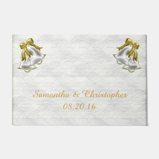 白い結婚式 ドアマット