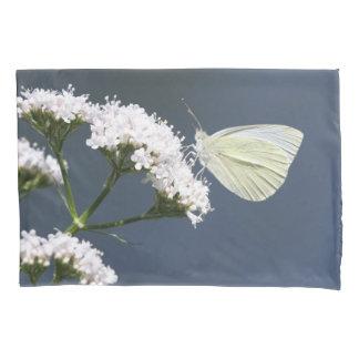 白い美しい 枕カバー