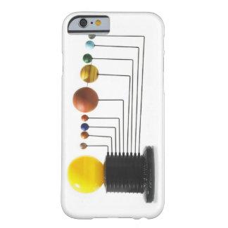 白い背景6の太陽系モデル BARELY THERE iPhone 6 ケース