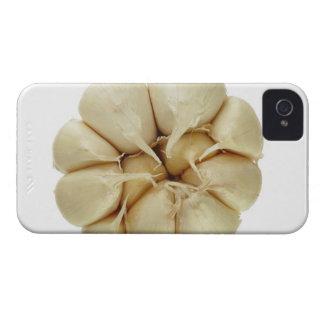 白い背景、DFFのイメージで隔離されるニンニク Case-Mate iPhone 4 ケース
