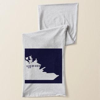 白い船 スカーフ