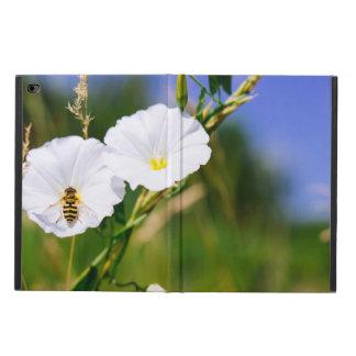 白い花のスズメバチ、自然の写真 POWIS iPad AIR 2 ケース