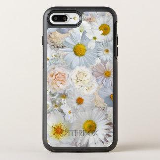 白い花の花束の花の結婚式の花嫁の春 オッターボックスシンメトリーiPhone 8 PLUS/7 PLUSケース