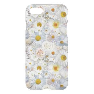白い花の花束の花の結婚式の花嫁の春 iPhone 8/7 ケース