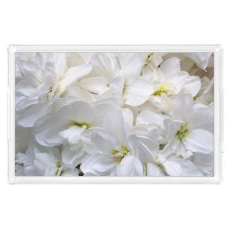 白い花 アクリルトレー