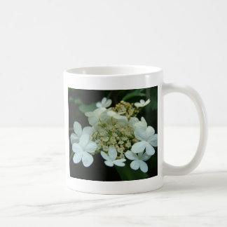 白い花 コーヒーマグカップ