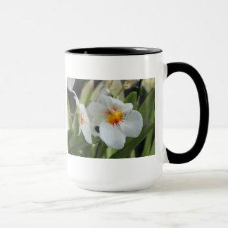 白い花 マグカップ