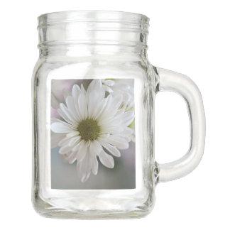白い花 メイソンジャー