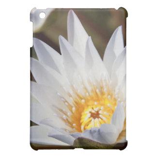 白い花 iPad MINIケース