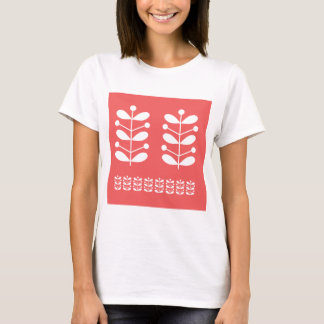 白い茎 Tシャツ