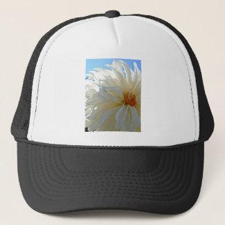 白い菊 キャップ