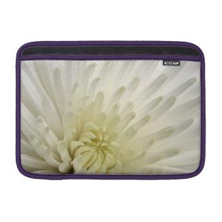 白い菊 MacBook スリーブ