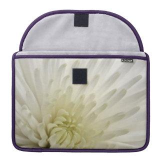 白い菊 MacBook PROスリーブ