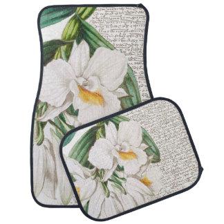 白い蘭の書道 カーマット