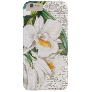 白い蘭の書道 BARELY THERE iPhone 6 PLUS ケース