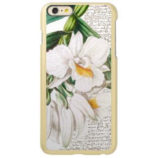 白い蘭の書道 INCIPIO FEATHER SHINE iPhone 6 PLUSケース
