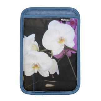 白い蘭 iPad MINIスリーブ