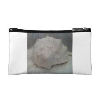 白い貝殻 コスメティックバッグ