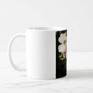 白い野生の花11のozのクラシックのマグ コーヒーマグカップ