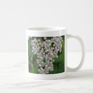 白い野生花 コーヒーマグカップ
