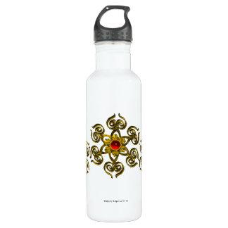 白い金バラのルビー ウォーターボトル