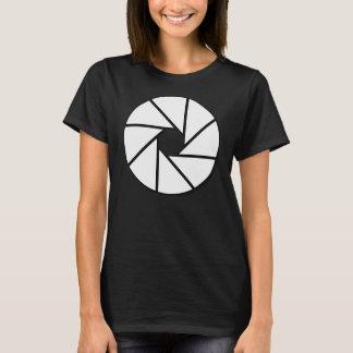 白い開きの刃 Tシャツ