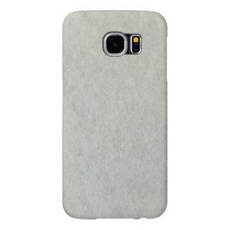 白い雪パターン SAMSUNG GALAXY S6 ケース