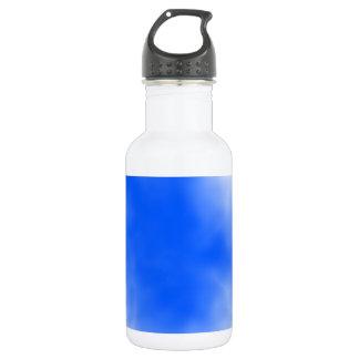 白い雲が付いている青空 ウォーターボトル