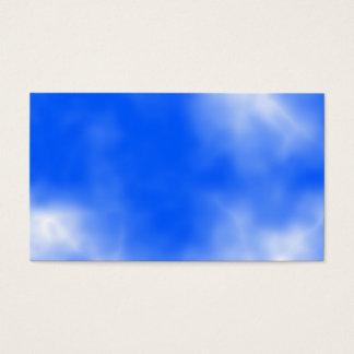白い雲が付いている青空 名刺