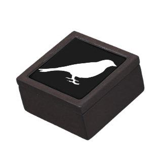 白い鳥のギフト用の箱 ギフトボックス