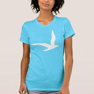 白い鳥 Tシャツ