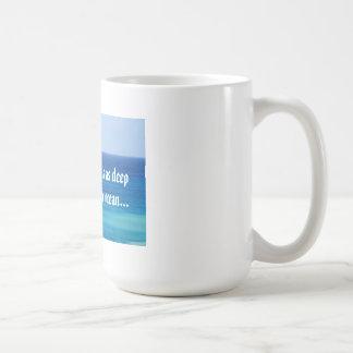白い|マグ|海|愛|メッセージ マグカップ