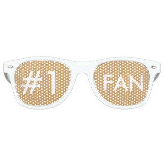 白い#1ファンガラス レトロサングラス