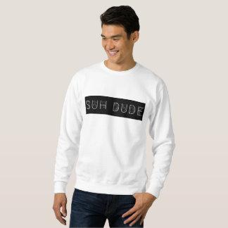 """白い""""suh男""""のスエットシャツ スウェットシャツ"""