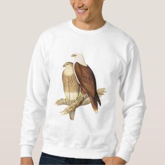 白いBreastedのオオワシ。 大きい肉食鳥 スウェットシャツ